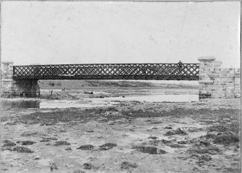 Mac's Hotel, Sexton Street, Abbeyside after the arson attack May 1921