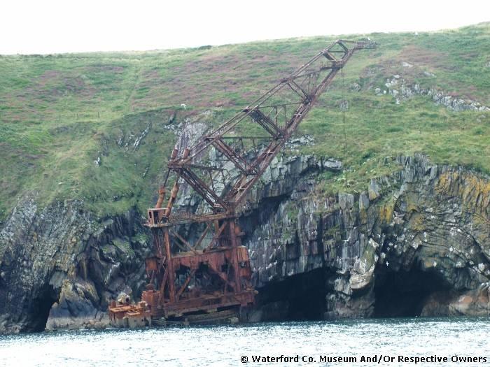 The 'Crane Ship' Samson, Ardmore