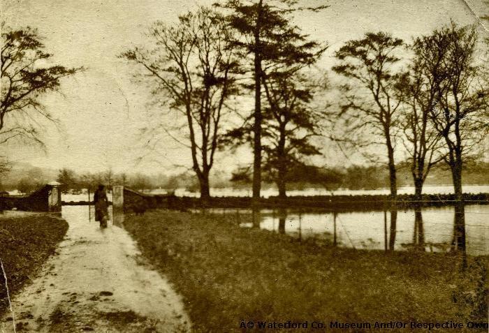 River Blackwater In Flood,Salterbridge
