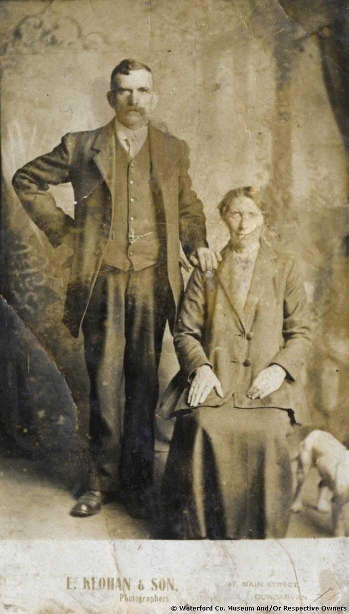 John & Bridget Power, Ballinroad, Abbeyside