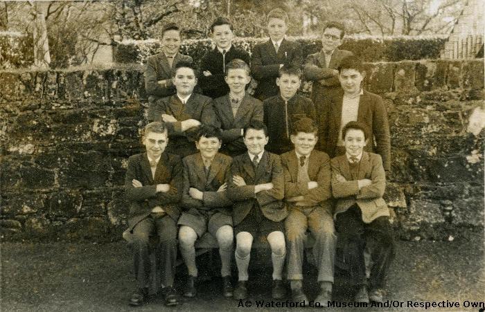 Lismore Primary School Sixth Class. 1960