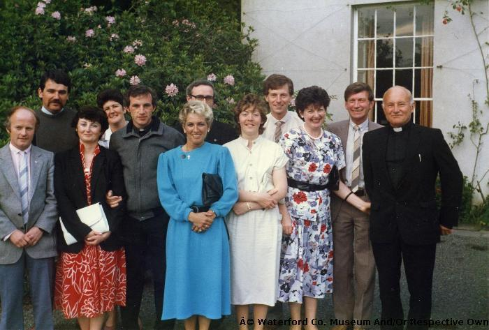 Teaching Staff, CBS, Dungarvan, On Retirement Of Brother Blake