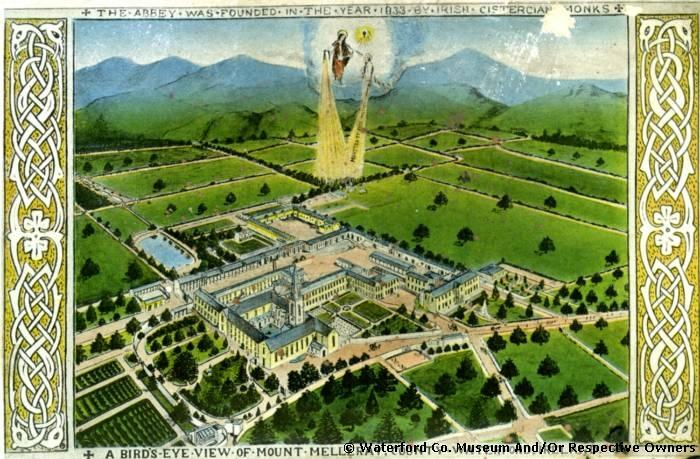 An Aerial View Of Mount Melleray Abbey