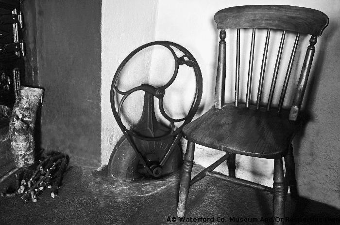Fire Bellows And Chair At O'Connor's House, Millstreet, Modeligo