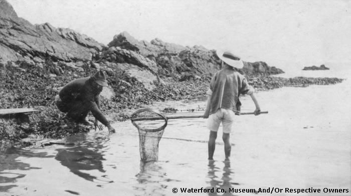 Man & Boy Fishing , Ardmore