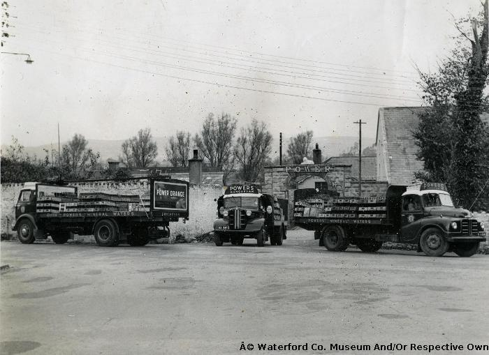 Three Power's Brewery Delivery Lorries