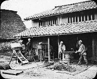 A Farm House,Japan