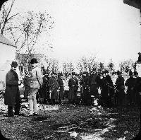 At Shanahan's Farm During His Eviction