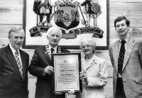 Civic Reception for Gertie Morrissey in Council Office Dungarvan