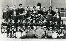 Dungarvan Pipe Band Easter 1974