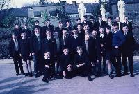 Dungarvan CBS Students In The Playground; Opening Of New Primary School.