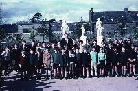 Dungarvan CBS Class In Playground; Opening Of New Primary School.