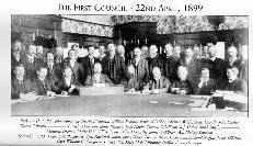 The First Waterford County Council 22nd April 1889