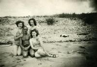 Foley Ladies With Others At Clonea Beach