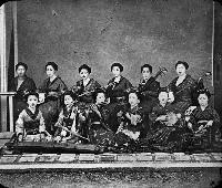 Girls With Musical Instruments, Japan
