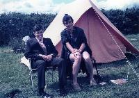 David Kiely And Eamonn Kiely In Scout Camp, Bunclody, Co Wexford