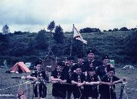11th  Waterford Dungarvan Scout Troop At Camo In Aughrim, Co Wicklow