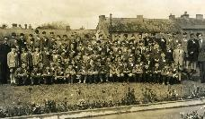 CBS Dungarvan Confirmation Classes With Youghal Road Houses In Background