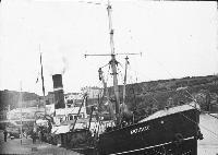 Italian Salvage Ship, Artiglio, At Dunmore East