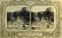Stereoscopic View, Geometric Garden, Newtown Anner House, Co Tipperary