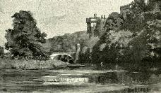 Lismore Castle From The River Blackwater