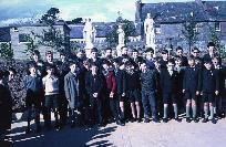 Dungarvan CBS Pupils In School Yard; Opening Of New Primary School.