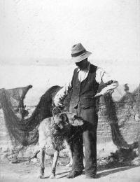 Unidentified Man With A Dog, Ardmore