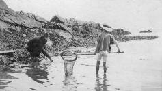 Man & Boy Fishing , Ardmore