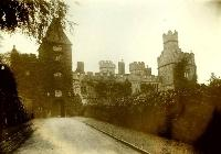 Avenue And Entrance To Lismore Castle
