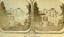 Stereoscopic View, Croquet At Marlfield House, Clonmel