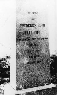 Tombstone Of Frederick Hugh Palliser