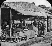 A Wayside Tea-House, Japan
