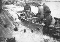 Group Of Men Fishing, Ardmore