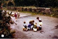 Children Playing On The Road, Baile na nGall ( Ballinagoul) Ring
