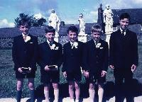 Dungarvan CBS, Five Boys On Occasion Of Their Confirmation.
