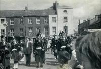 Dungarvan Pipe Band In Grattan Square