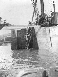 Construction Of Ardmore Pier