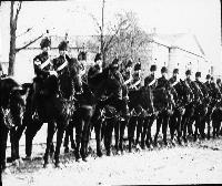 Cavalry At Middleton Courthouse For Trial Of William O'Brien