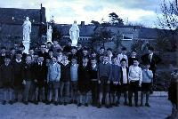 Dungarvan CBS Class In School Yard