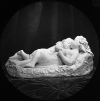 Statue; Two Sleeping Children