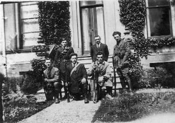 I.R.A. Members At Cappagh House